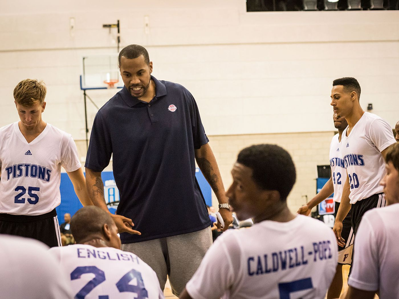 d00252a3aec9 NBA Orlando Summer League  Inside look at Rasheed Wallace s coaching debut  - Detroit Bad Boys