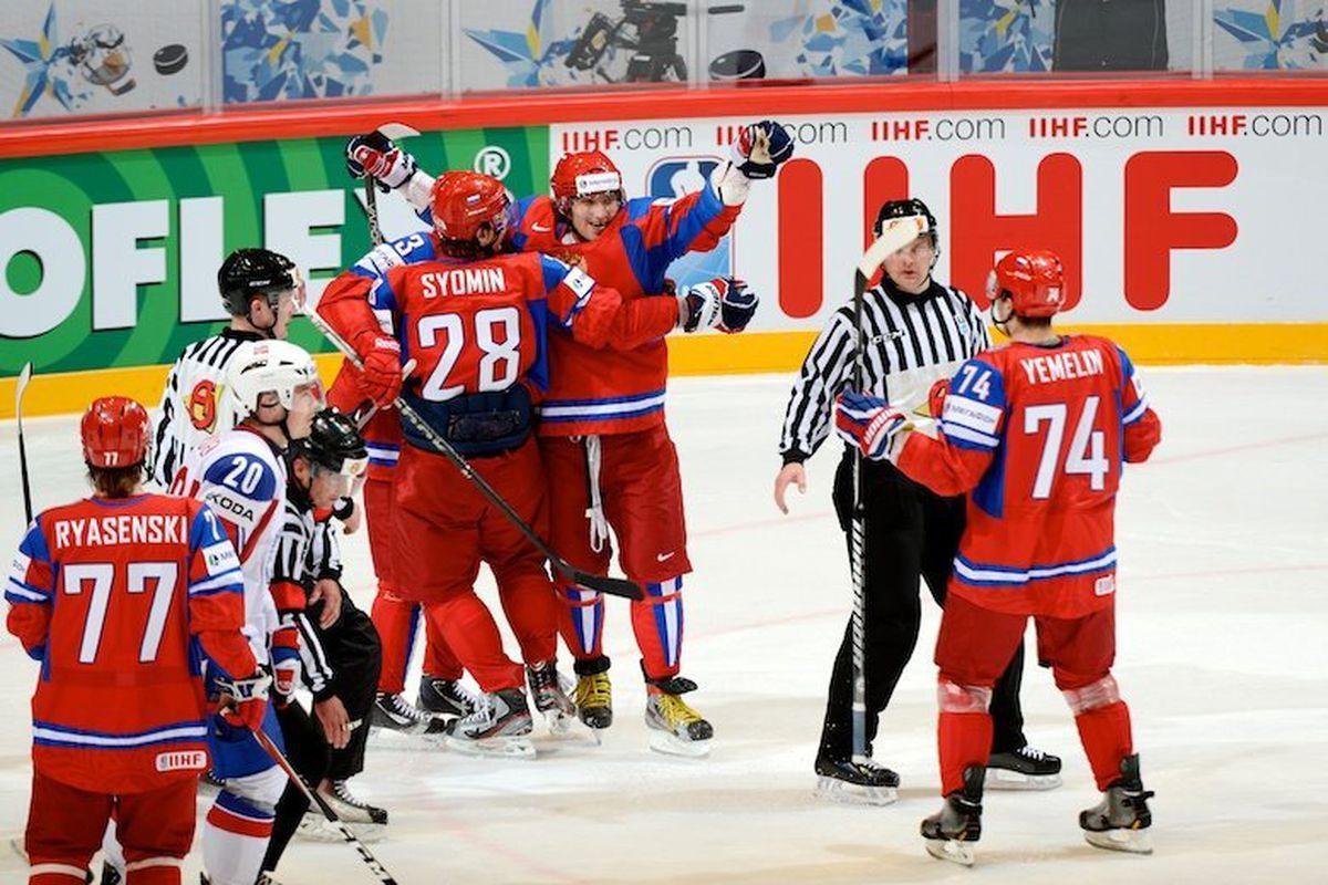 """Photo courtesy<a href=""""http://www.fhr.ru/"""" target=""""new""""> Russian Ice Hockey Federation</a>."""