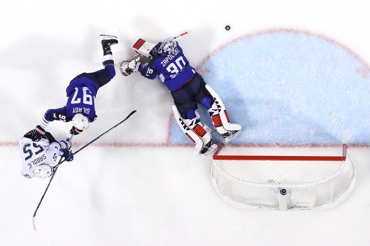 Ice Hockey - Winter Olympics Day 5 - United States v Slovenia