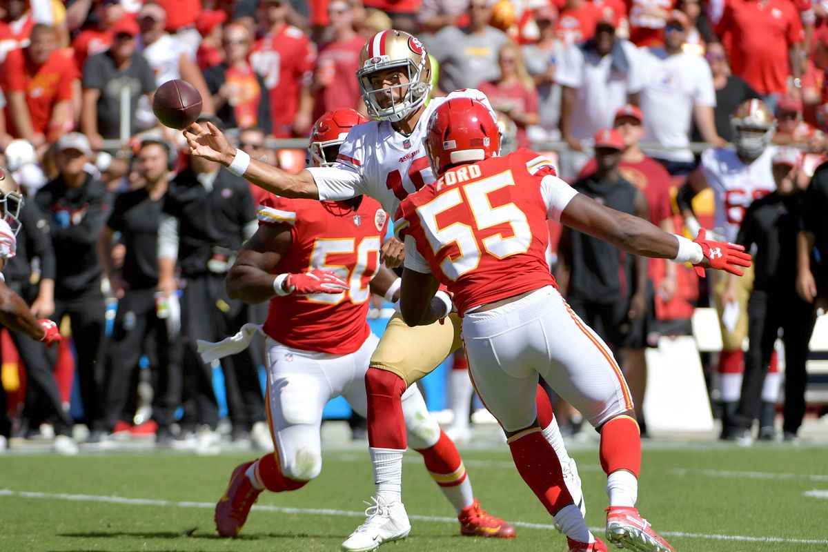 cfbb6d64 NFL Free agency: 49ers introduce Dee Ford and Kwon Alexander at ...