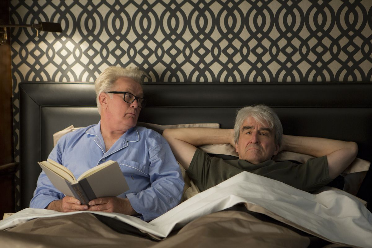 Martin Sheen and Sam Waterston star in Grace and Frankie.