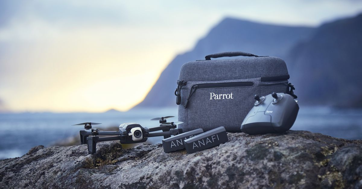 Parrot Releases Useful New Photo Modes for its Anafi Drone