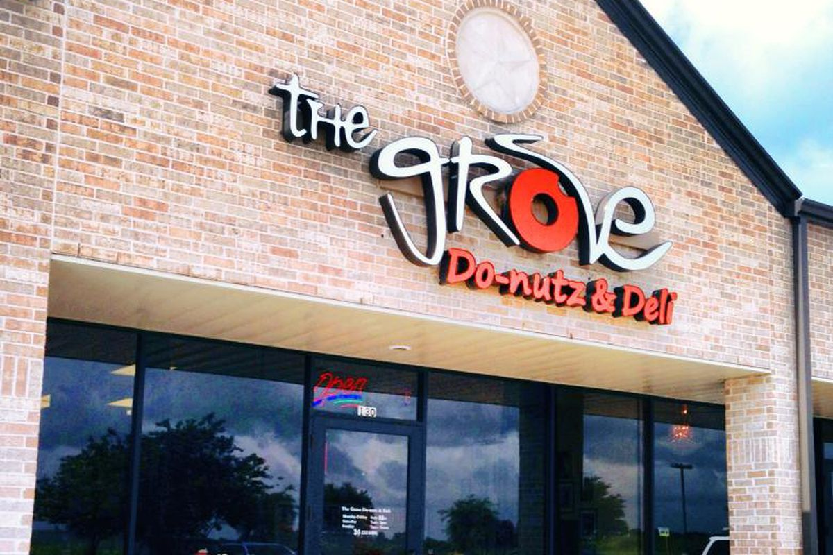 The Grove, home of the original cookie doughnut