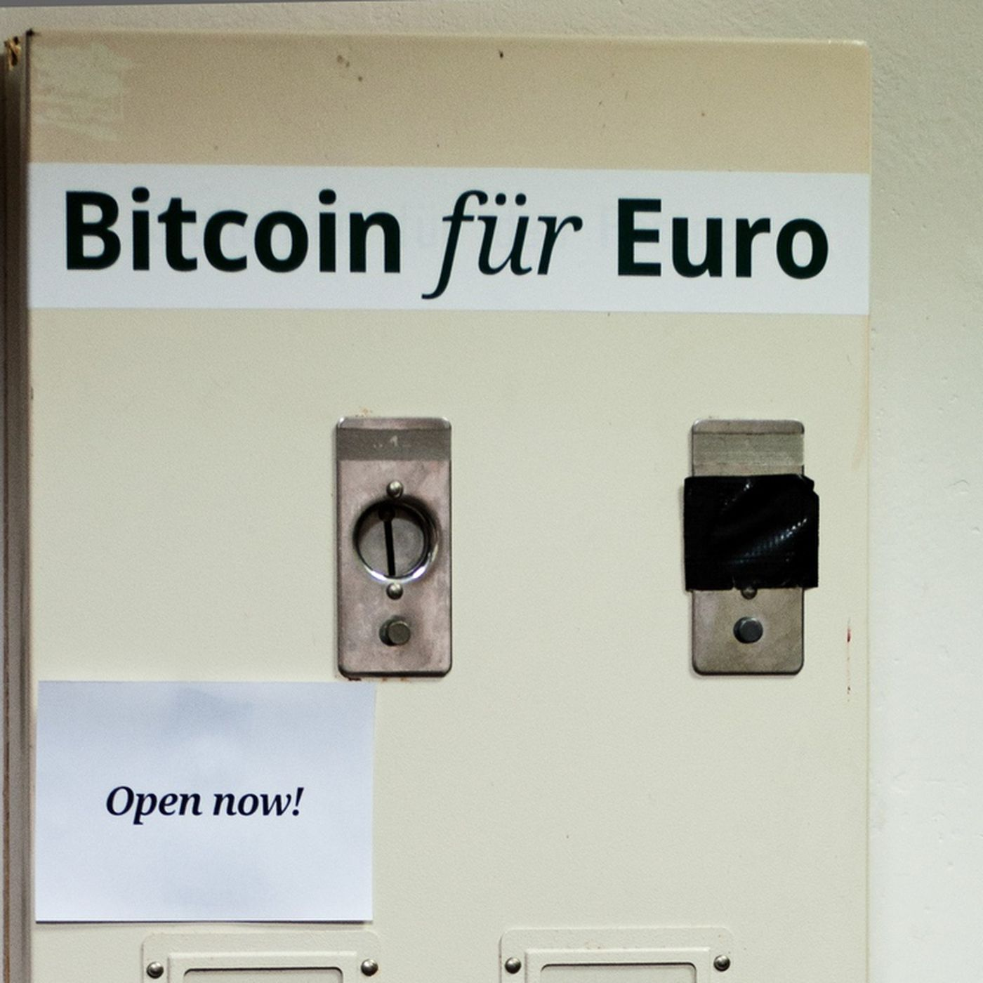 Builds Euro To Bitcoin Vending Machine