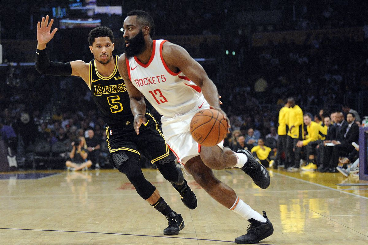 c98744d47db Rockets earn 65th win of season as they down Lakers - The Dream Shake