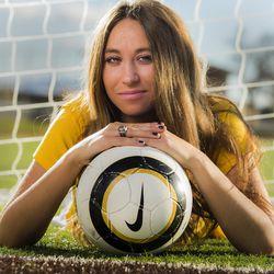Davis defender Haylee Cacciacarne, pictured Nov. 11, is Ms. Soccer 2015.