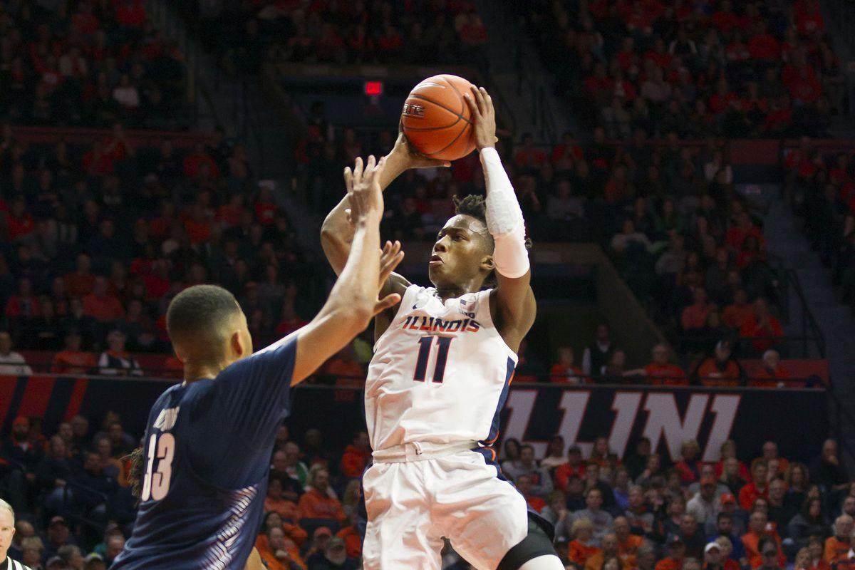 NCAA Basketball: Georgetown at Illinois