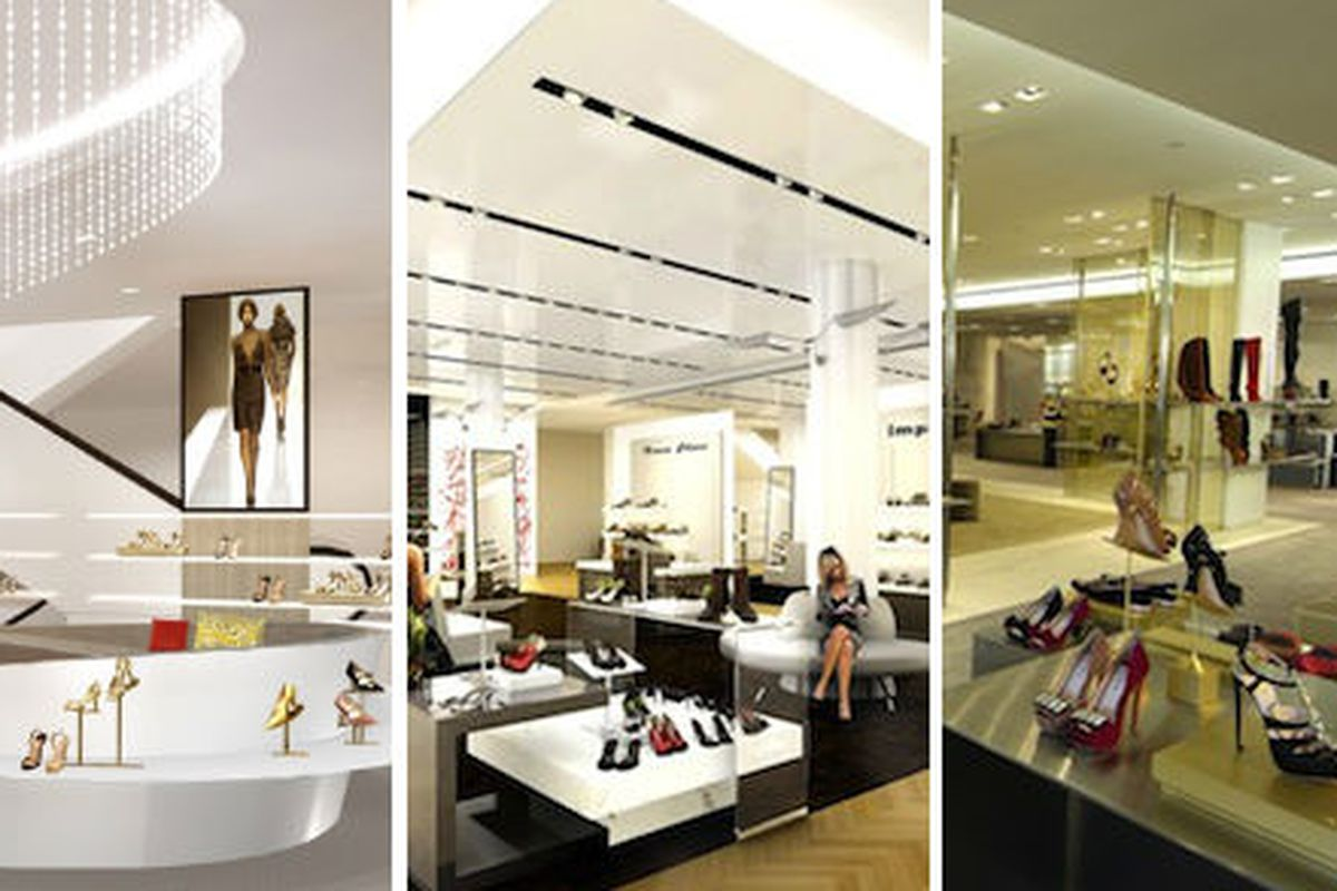The contenders: Saks, Macy's, and Barneys