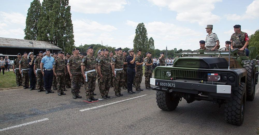 France's Cyber Command Marched in Paris's Bastille Day Parade for the First Time