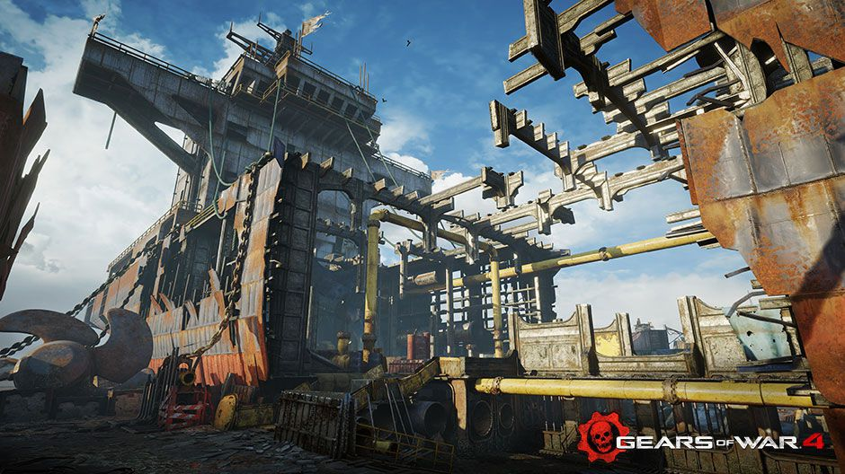 Gears of War 4's first DLC maps are returning favorites from