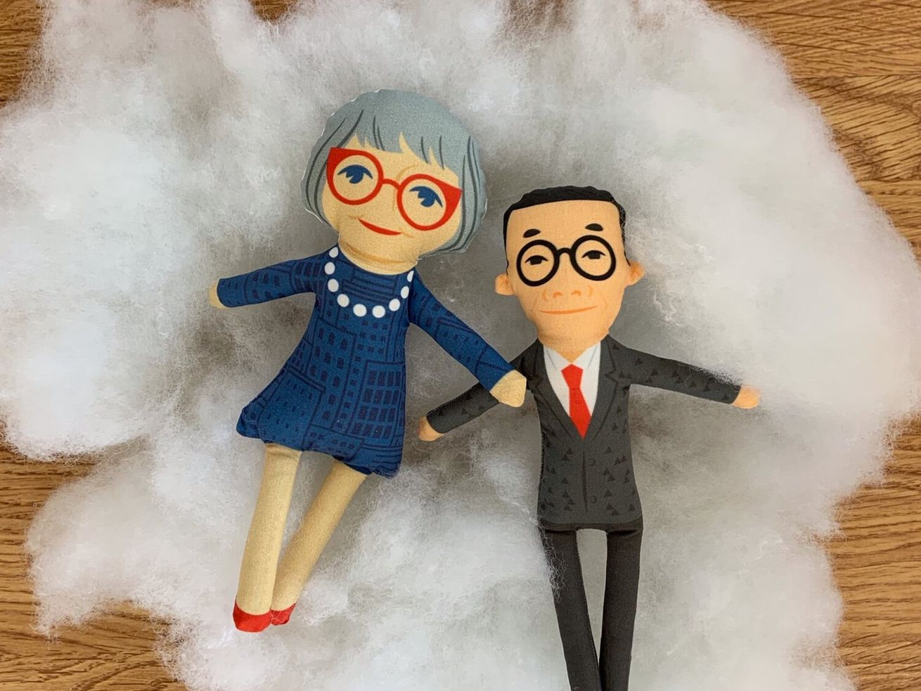 Tiny Jane Jacobs creator introduces a tiny I.M. Pei doll