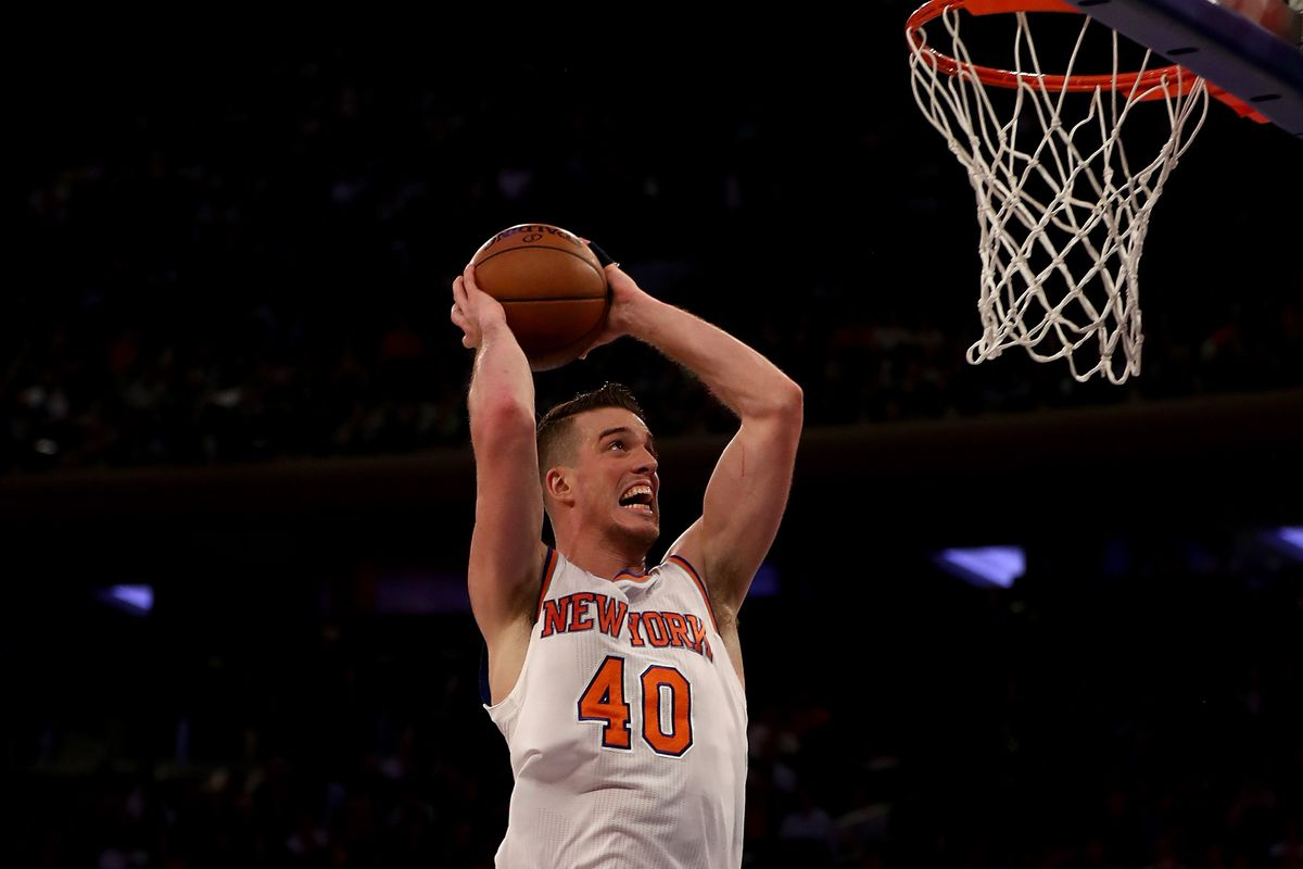 The Knicks have waived center Marshall Plumlee - Posting and
