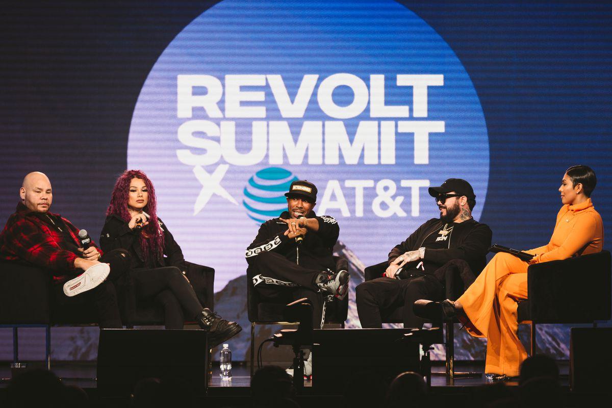 "REVOLT Summit's ""Leading the Latin Culture"""