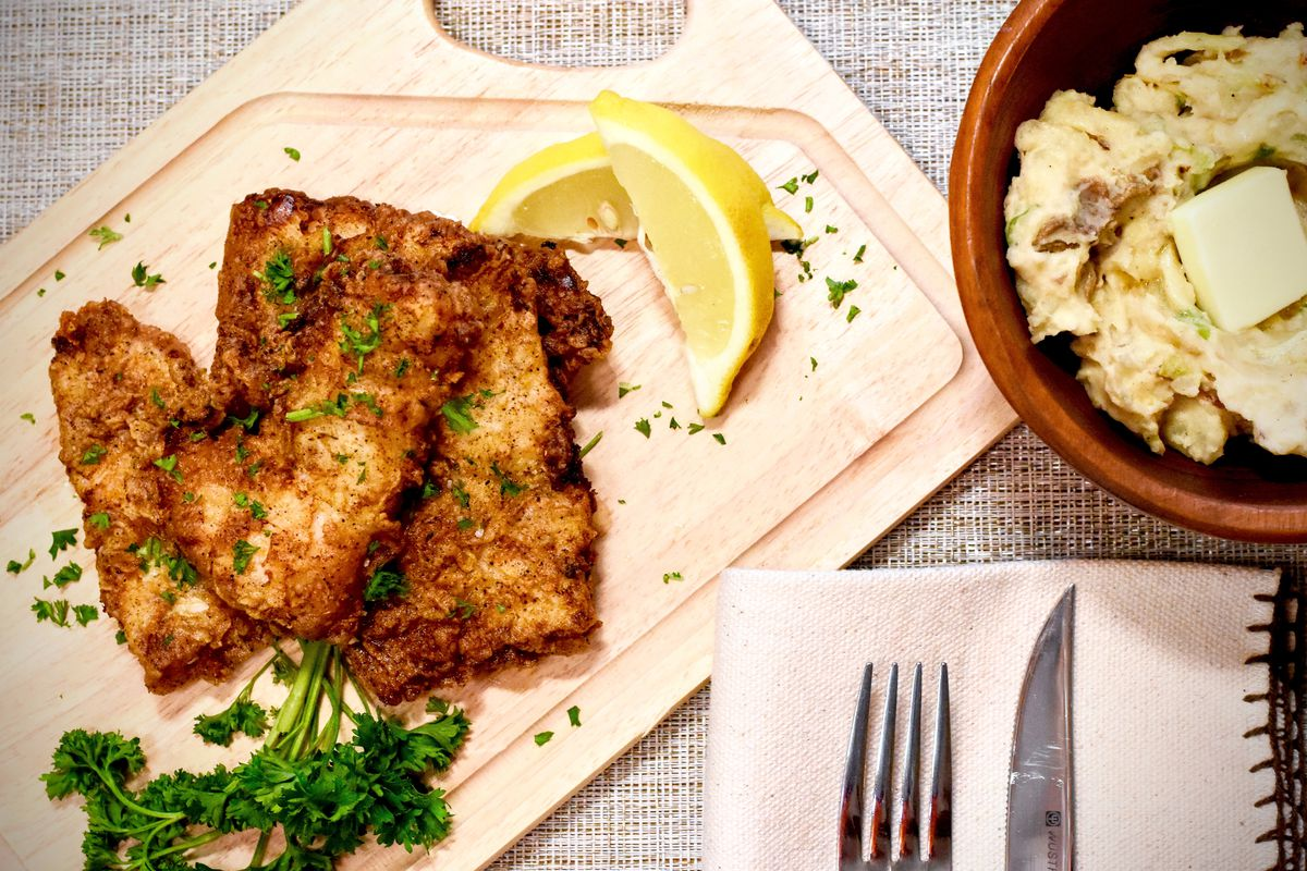 """Jack Hennessy brings """"Fried walleye and Colcannon"""" to """"Braising the Wild"""" this week."""