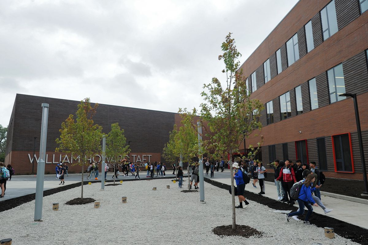 Taft High School's new $77M freshman building opens for class: 'It's so cool'