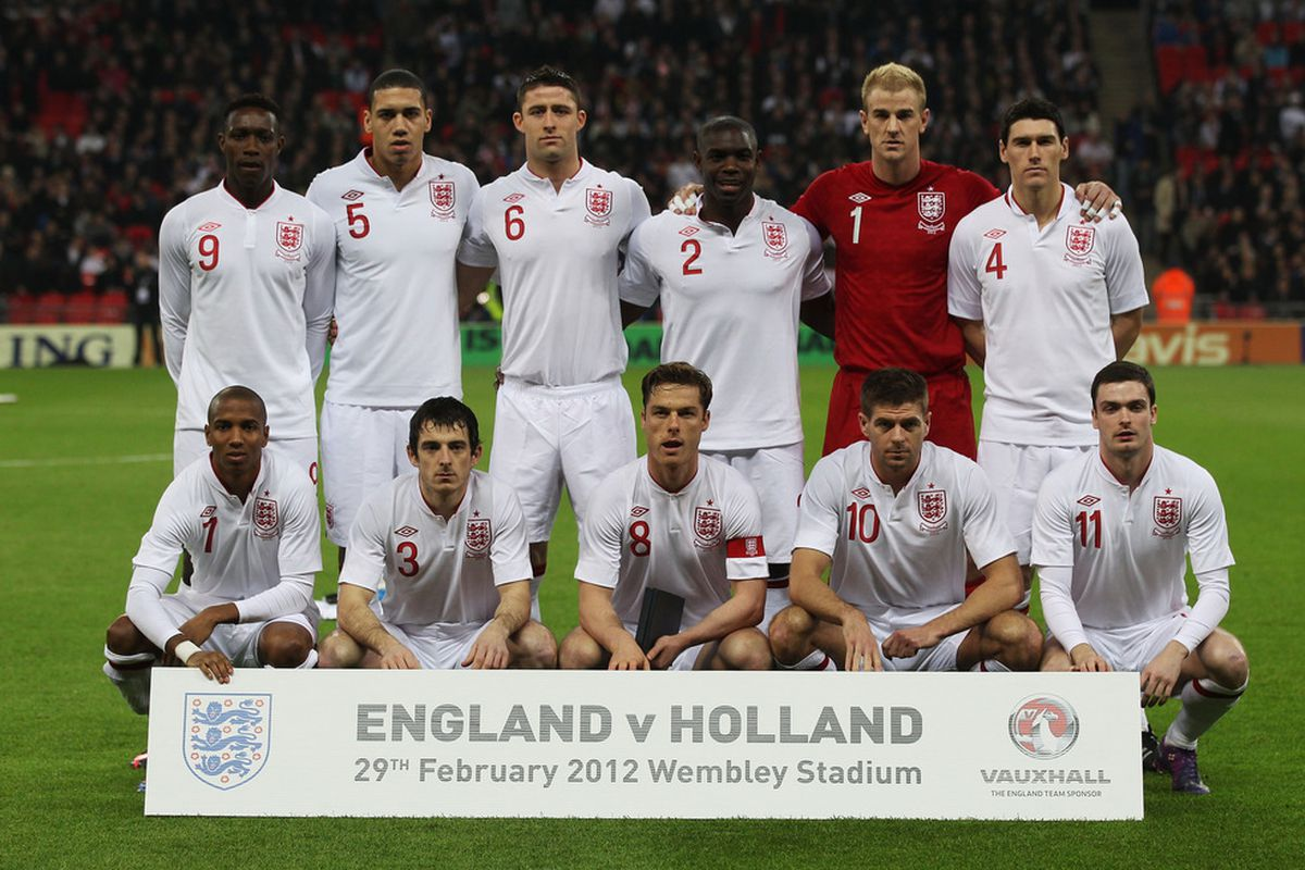 Danny Welbeck, Chris Smalling, and Ashley Young were all in the England starting XI in a friendly versus Holland.