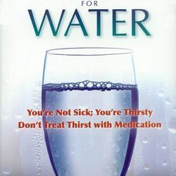Healthy living starts with water. Lots of it. To learn more about the ways that water (or the lack thereof) can affect your body, Alex suggests reading Your Body's Many Cries for Water by F. Batmanghelidi.  Remember: When you're feeling funky, the proble