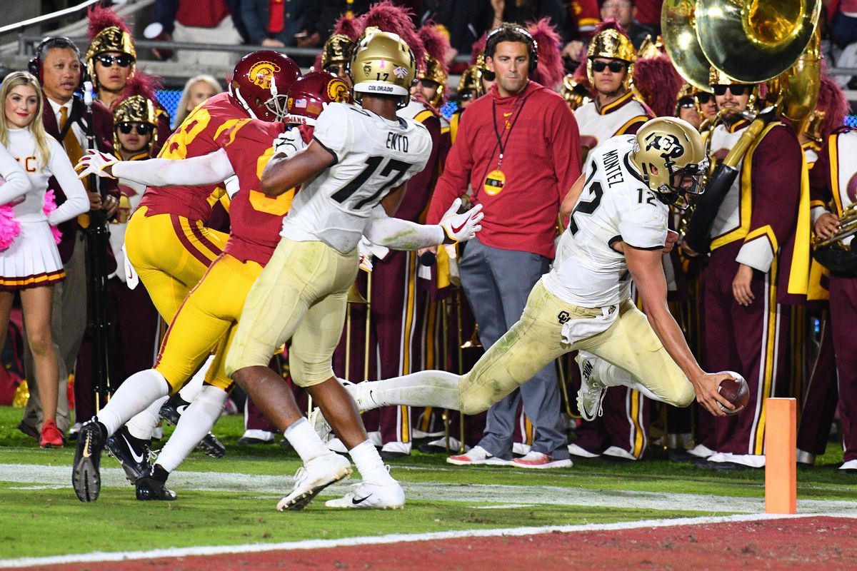 COLLEGE FOOTBALL: OCT 13 Colorado at USC