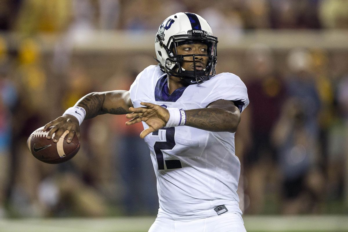 Boykin is ready to sling it around a little more this week to make up for lost stats.