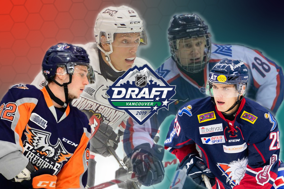 2019 NHL Entry Draft: 5 players for the San Jose Sharks at