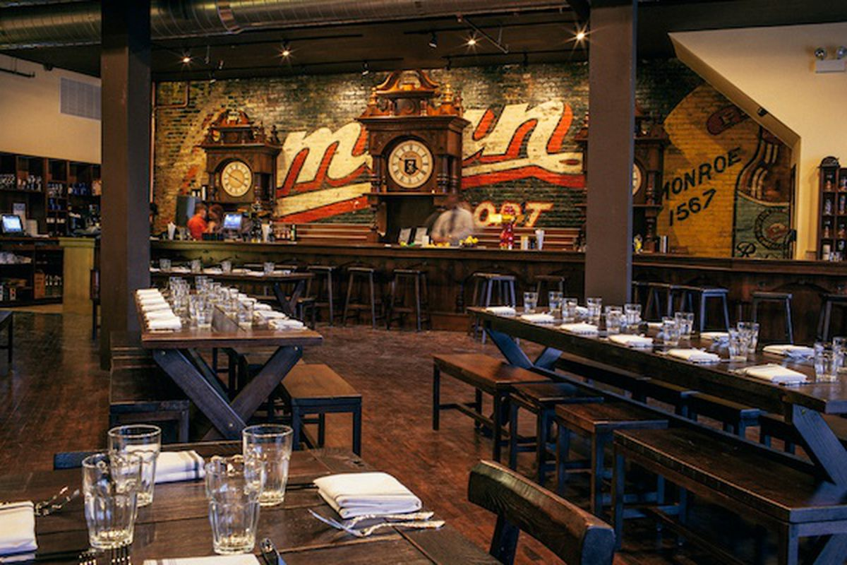 The Radler Logan Square German Restaurant And Beer Hall Is