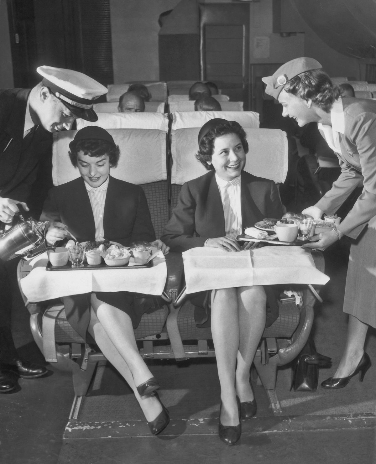 In our casual society, dressing up for flights is no longer standard practice.