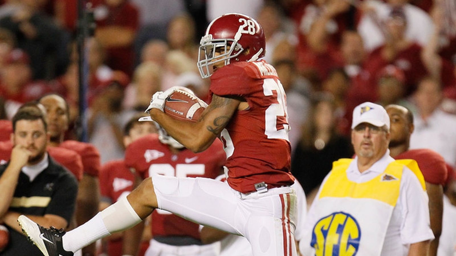 Alabama Cb Dee Milliner Is Visiting The Colts Today