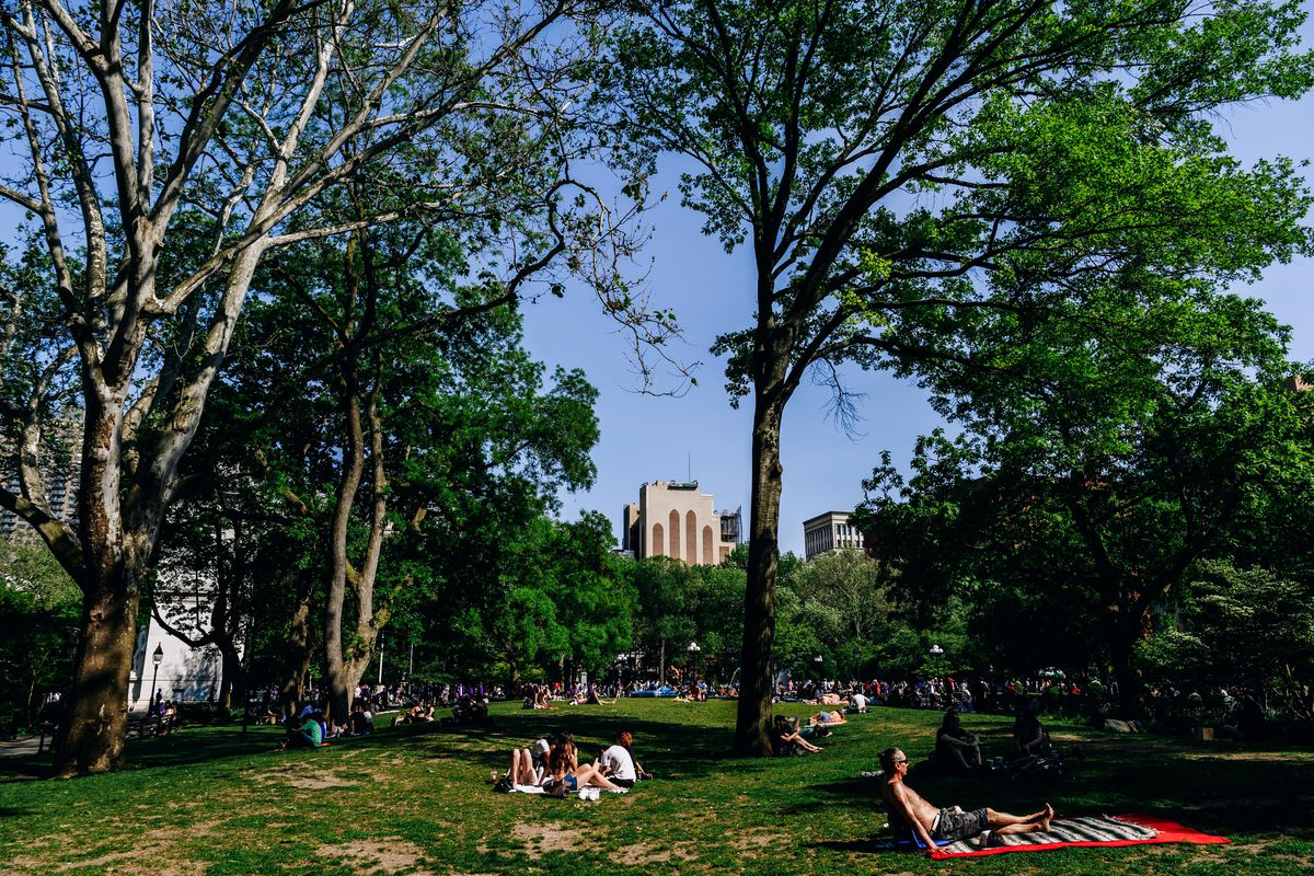 NYC Summer Weather As State Adopts CDC Mask And Social Distancing Guidelines