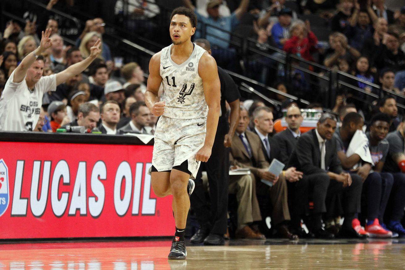 NBA: Oklahoma City Thunder at San Antonio Spurs