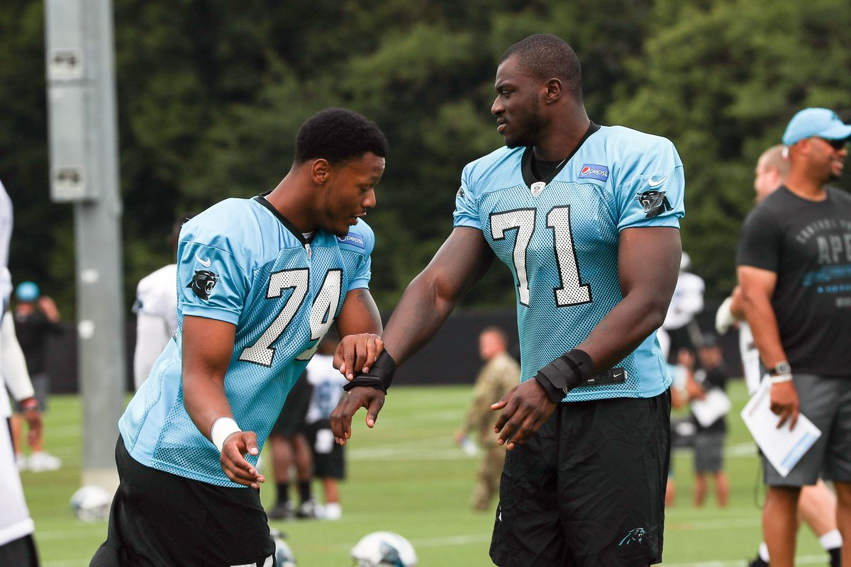 pretty nice 726f7 3b723 This new Panthers defensive end overcame childhood ...