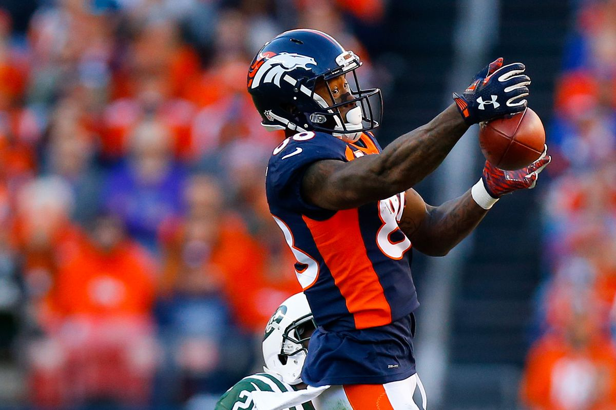 Demaryius Thomas snags record setting day against the Jets Mile