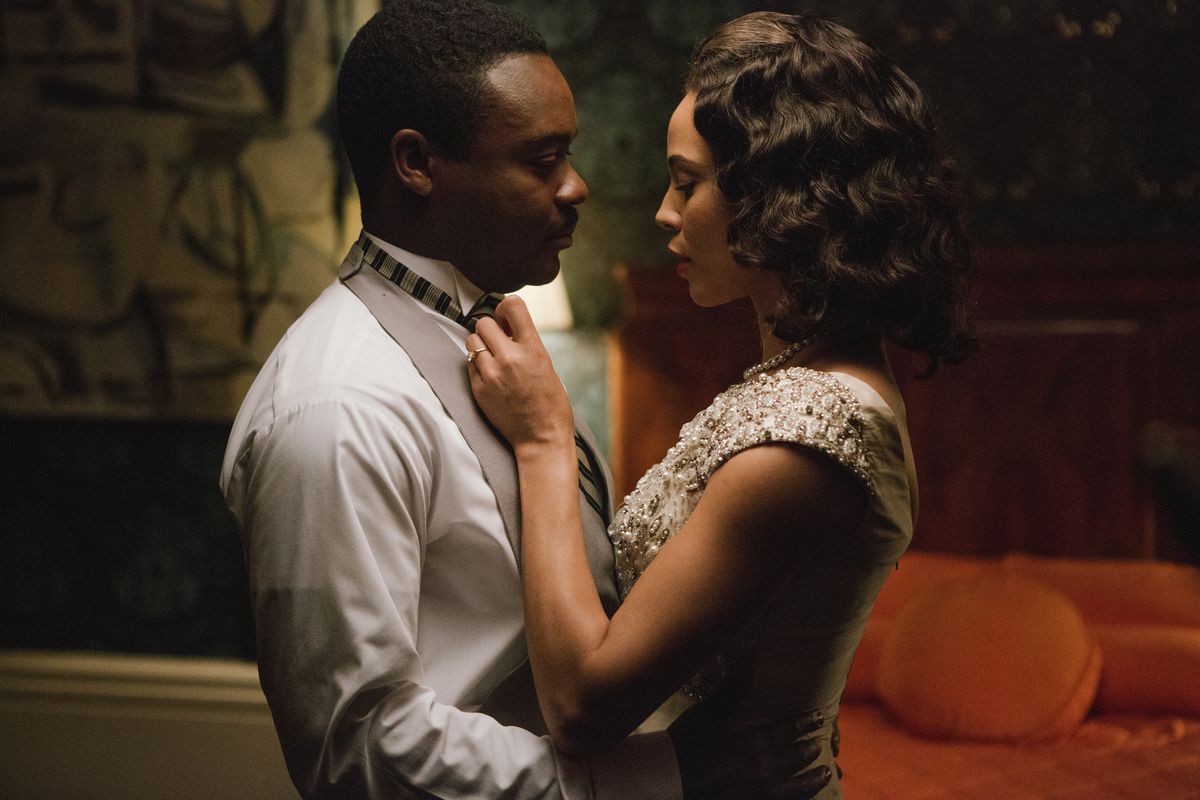 David Oyelowo and Carmen Ejogo play Martin Luther King Jr. and his wife Coretta in Selma.