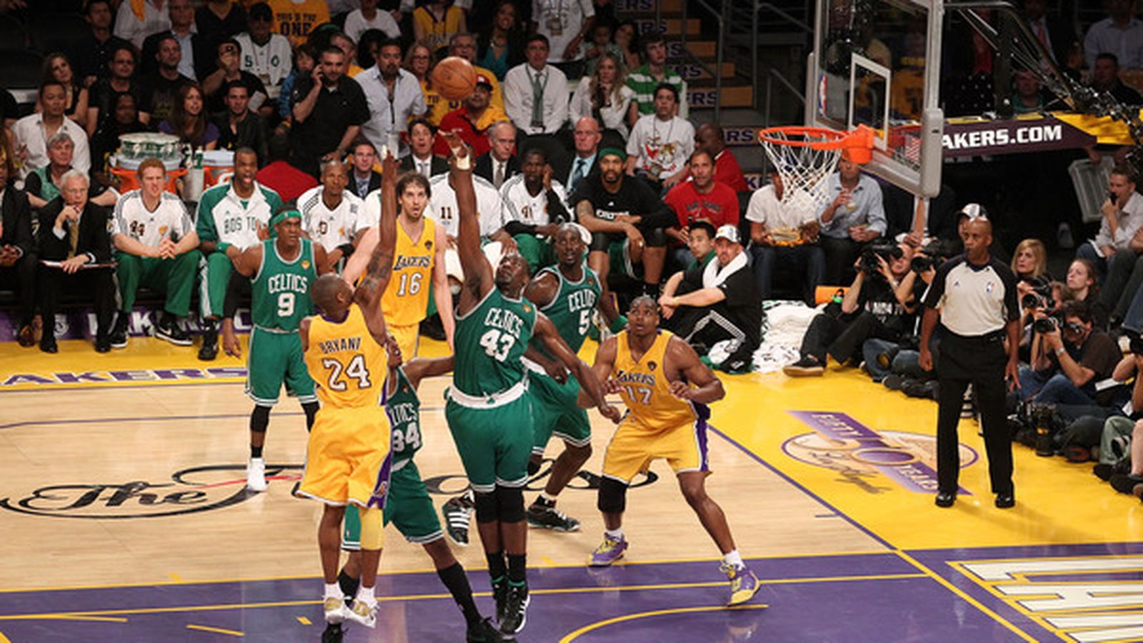 This Boston Celtics - Los Angeles Lakers Game 7 is a must ...Lakers Game