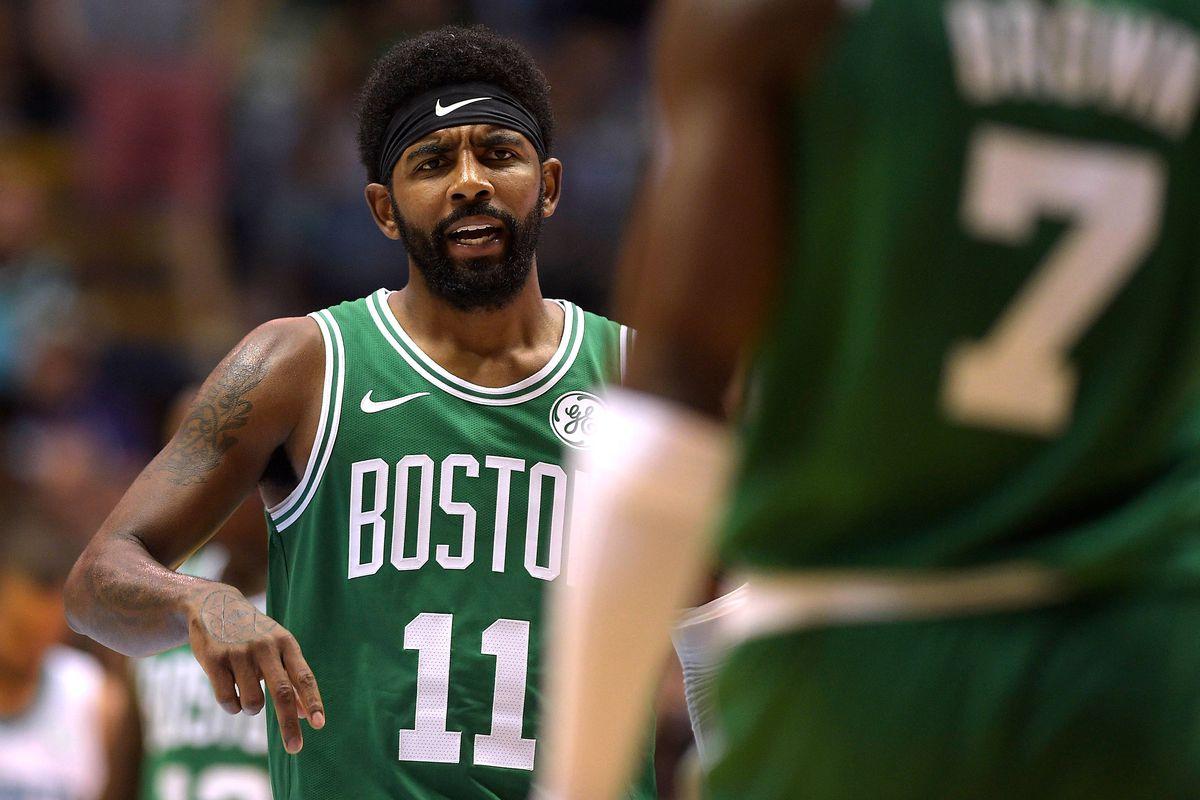 Celtics Practice Report: Kyrie Irving discusses his announcement (video)