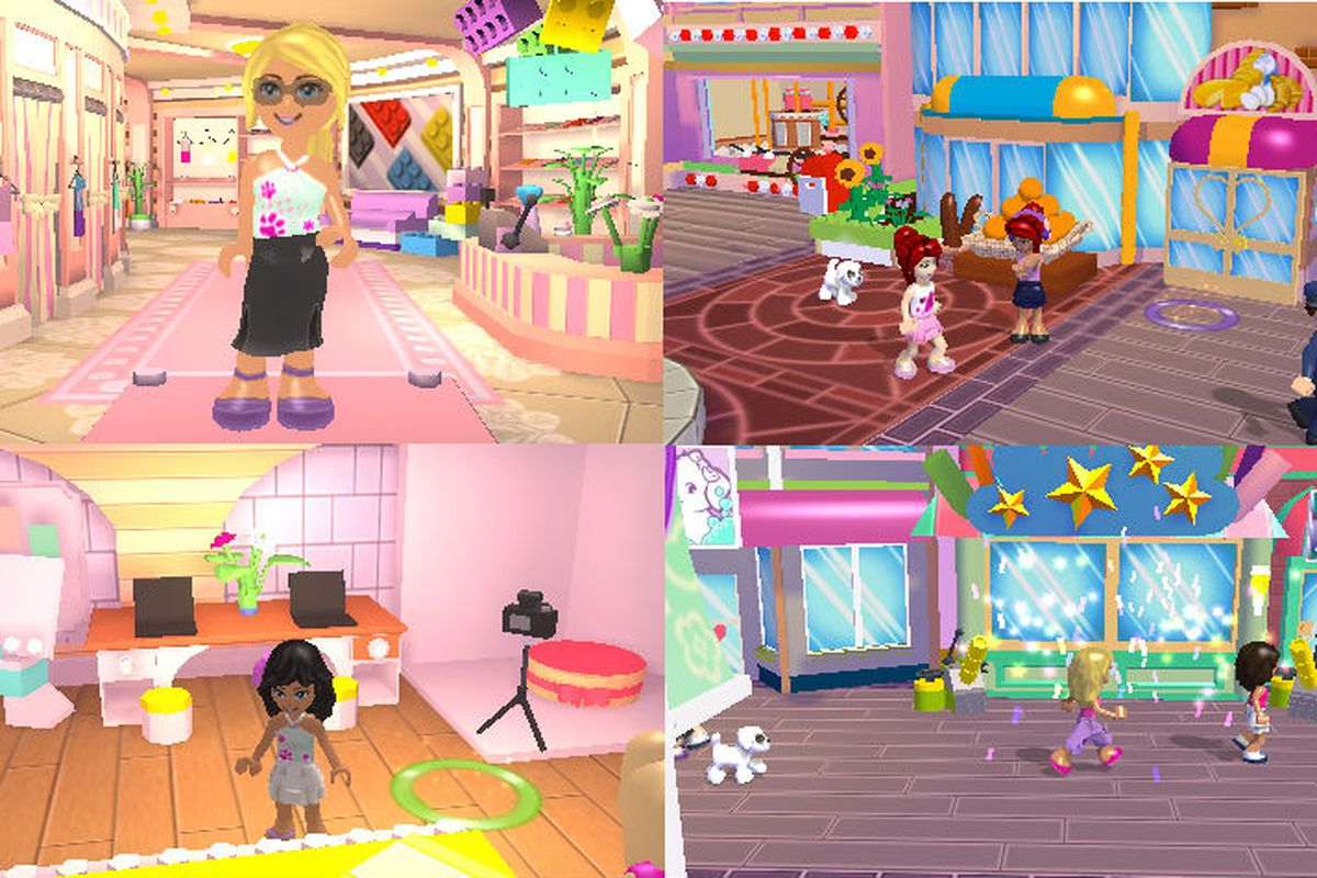 Lego Friends Launching For Nintendo 3ds In The Fall Polygon