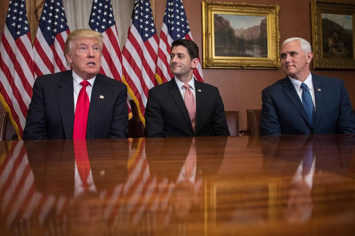 Trump, Ryan, and Pence