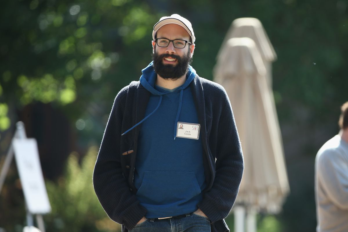 Patreon founder and CEO Jack Conte at Sun Valley, Idaho