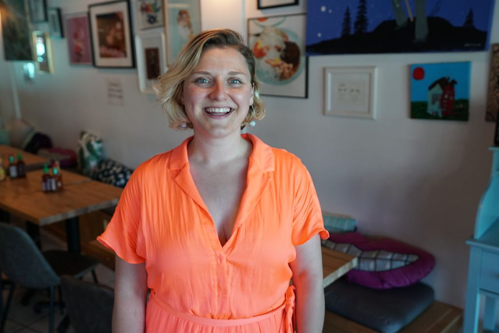 Christine Forster is the co-owner ofSmack Dab restaurant in Rogers Park.
