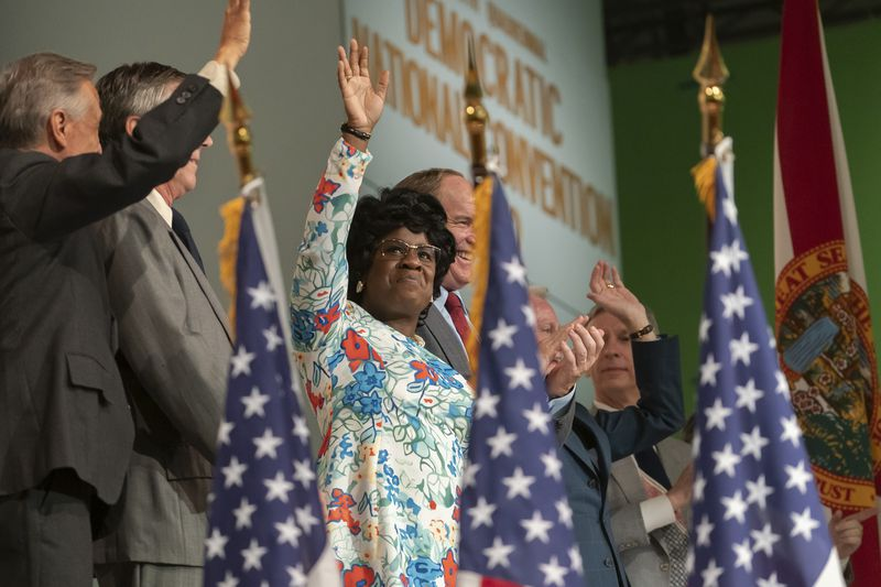 Uzo Aduba plays Shirley Chisholm.