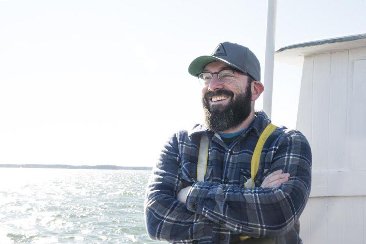 The Salt Line chef de cuisine Mike O'Brien.