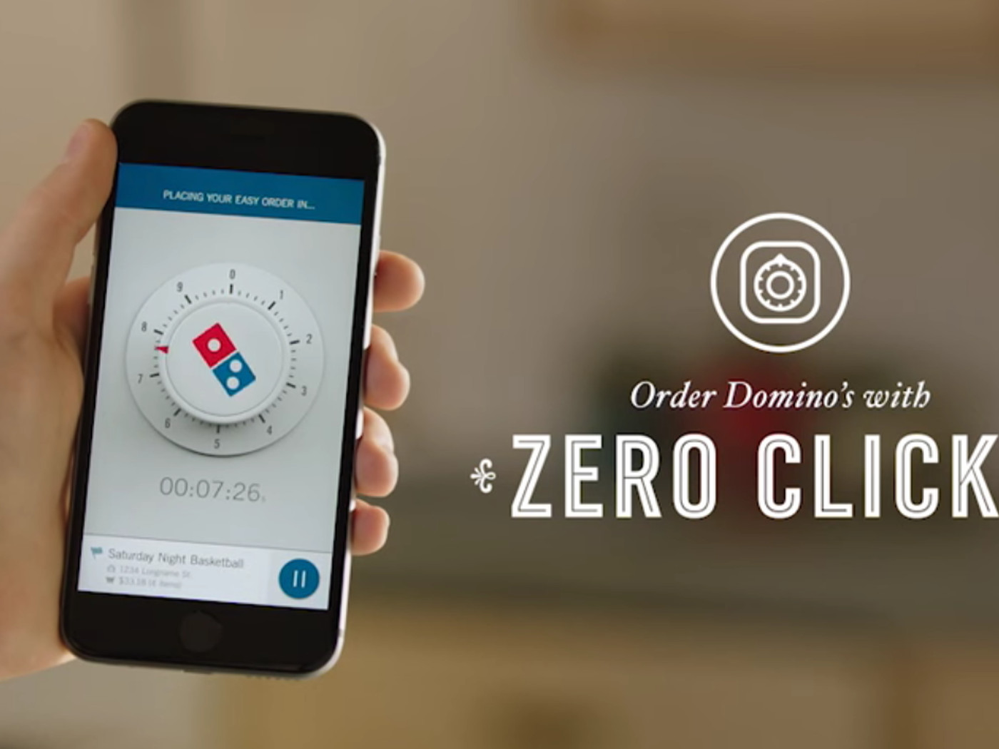 New Domino's app automatically orders a pizza when you or