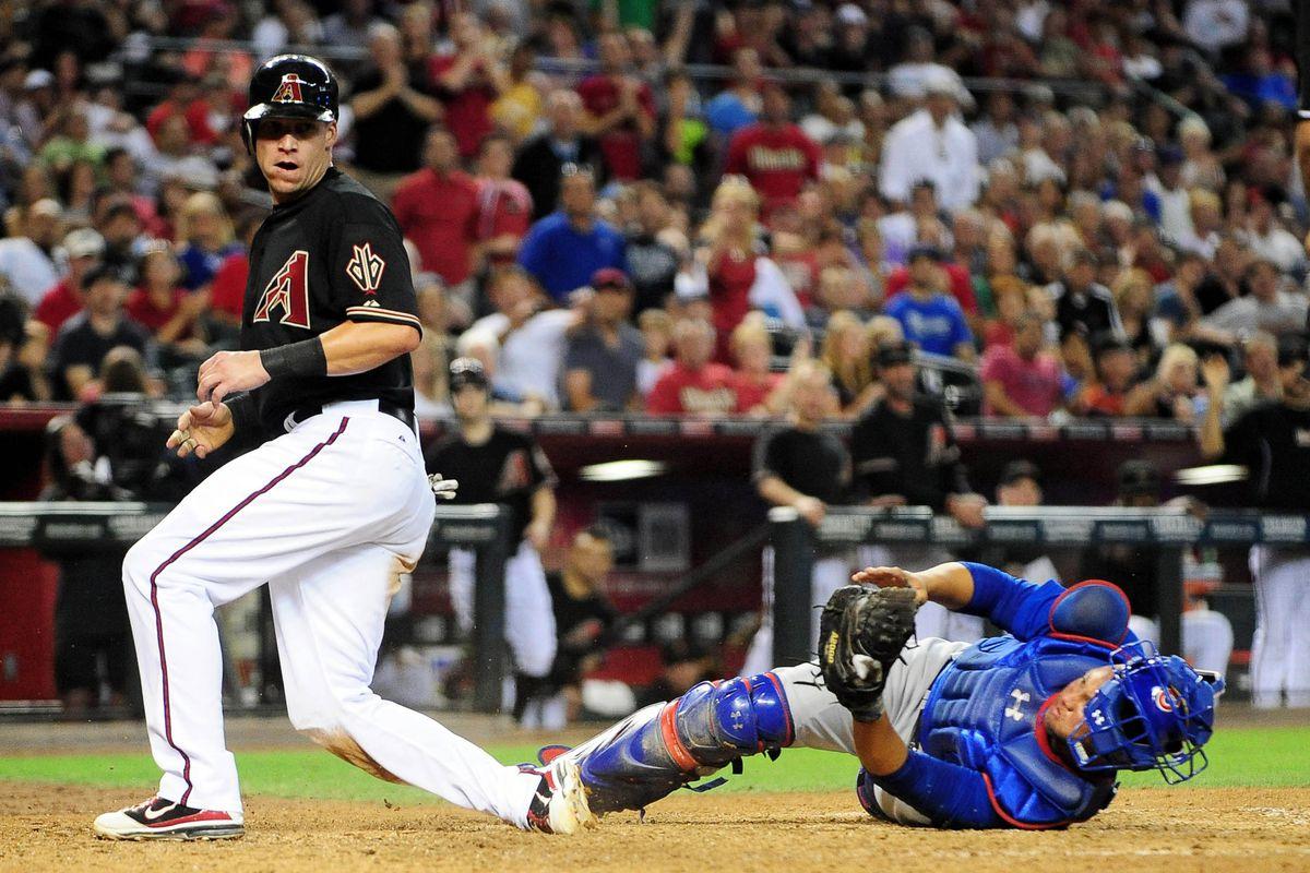 Mike Jacobs doing baseball