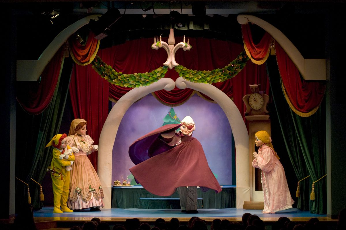 Puppet Company Playhouse Presents Nutcracker Which Has Entertained Young And Old For Generations