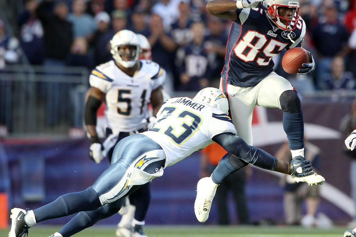 <em>Chad Ochocinco could be targeted a lot more with Aaron Hernandez sidelined</em>.