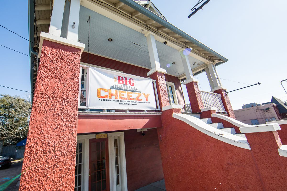 The Big Cheezy flagship on Broad Street.