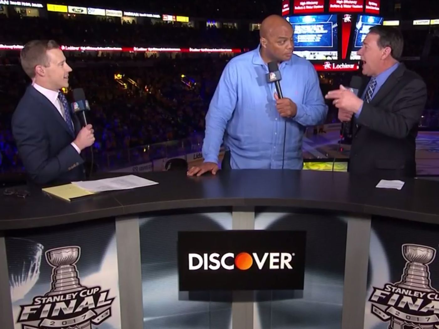 Watch: Charles Barkley loves the John Spano 30-for-30, while ...