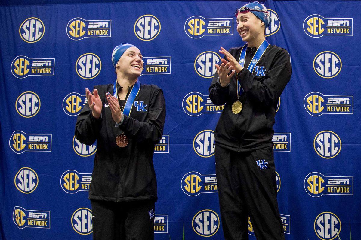 SEC Championships 2018; 200 Backstroke Podium