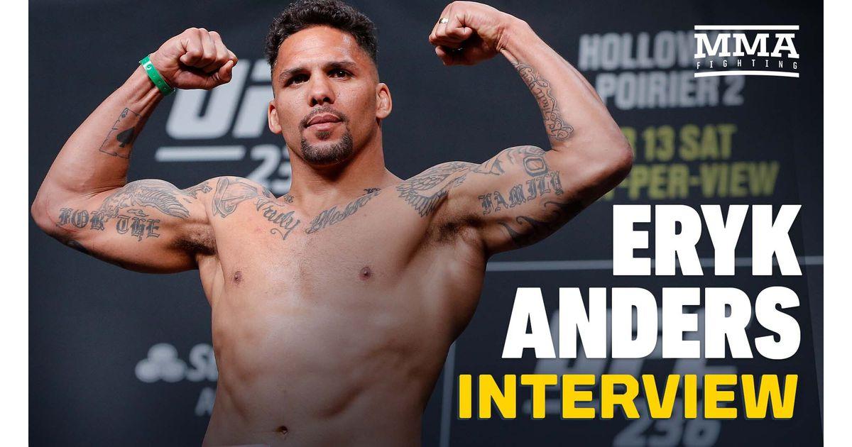 Video: Eryk Anders hopes to be rebooked vs. Ed Herman or Antonio Arroyo after UFC 263 win