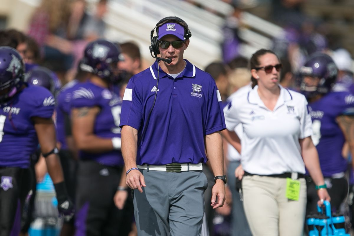 Will Weber State Coach Jay Hill Be A Candidate For Open Fbs Jobs This Winter Deseret News