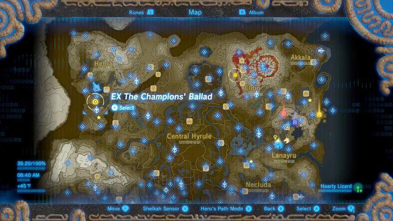 Zelda Breath Of The Wild Champions Ballad Guide Noe Rajee Shrine